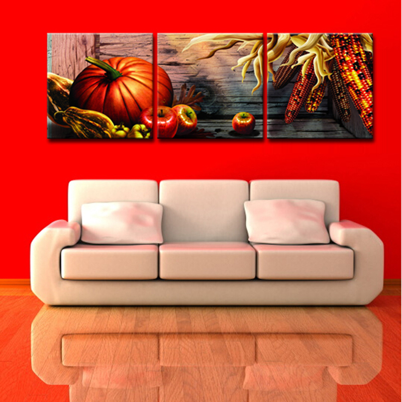 High Definition Giclee Print Vegetables Fruits Canvas